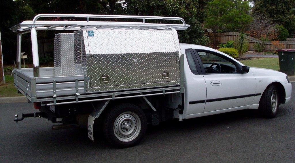 Ladder Roof Rack >> Ozrax: Australia Wide Ute Gear. Ute Accessories, Ladder ...