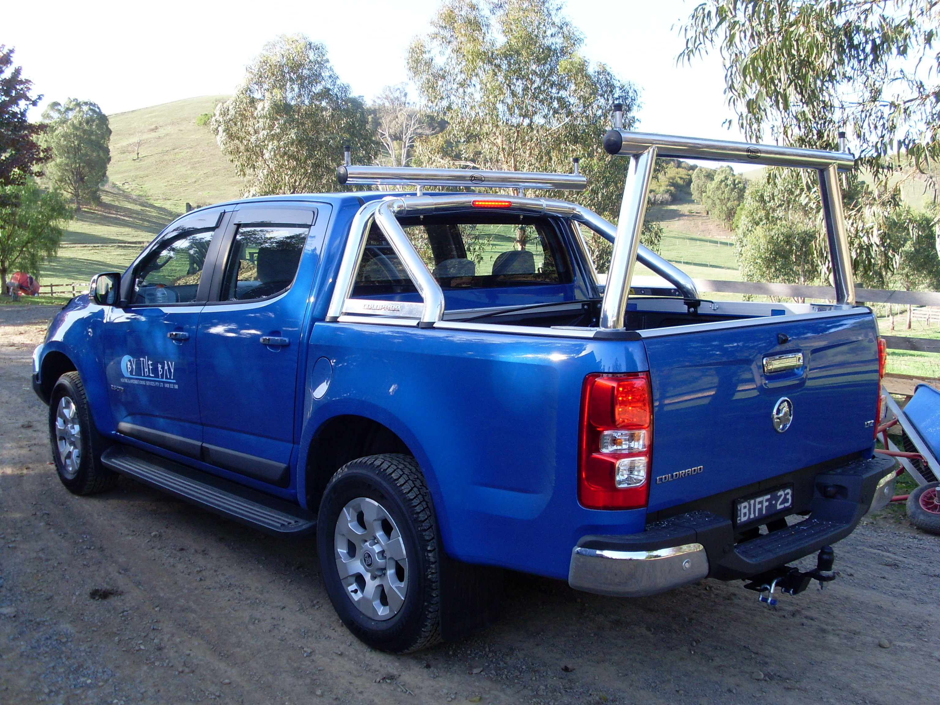 holden models system rack rg holed suit truck conversion webdsc ladder product colorado to